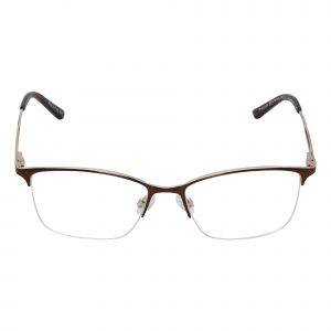 Precision Brown 504 - Eyeglasses - Front